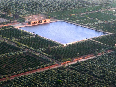 Places to visit in Marrakech - Agdal Gardens, the 'walled Meadow' of Marrakech