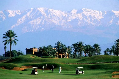 Four of the best Golf Courses in Marrakech