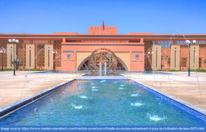 A state of the art museum in Marrakech
