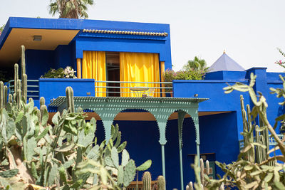 Visit the Majorelle Garden in Marrakech