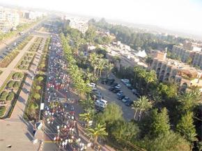 Marrakech Marathon 2011