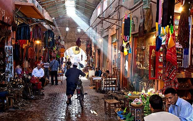 Exploring the Marrakech Souks