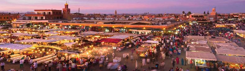 New Year's Eve in Marrakech