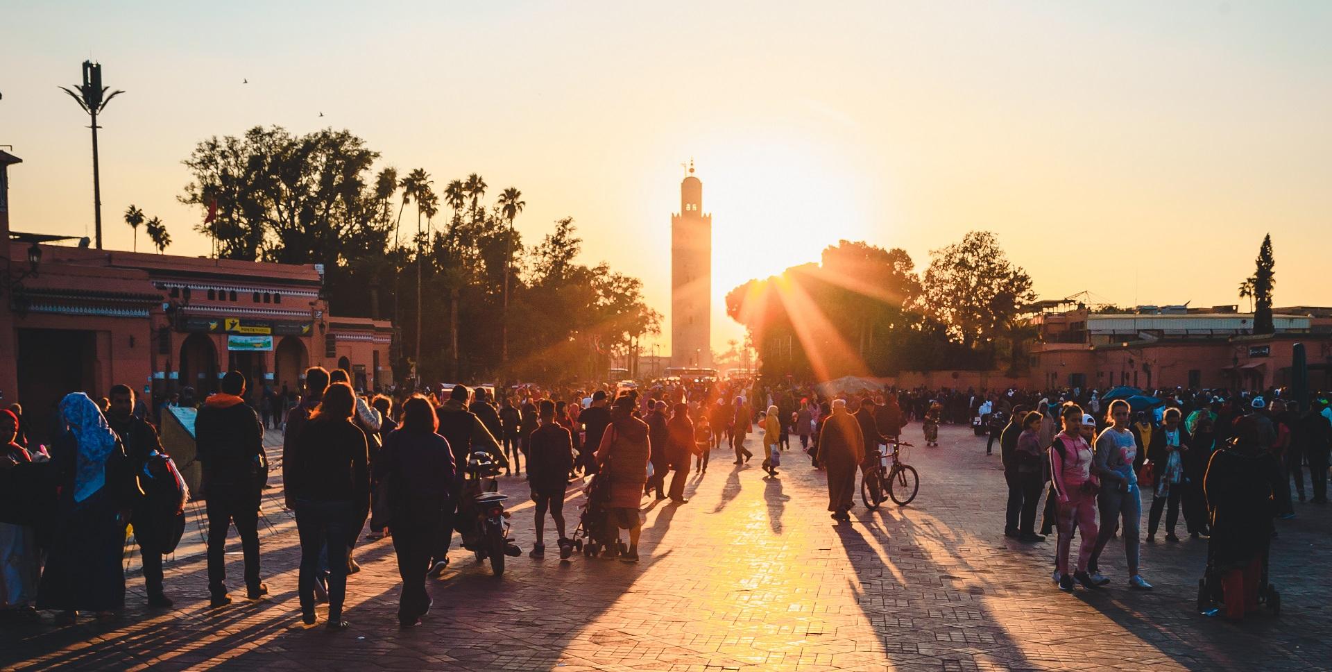 Marrakech in July 2018