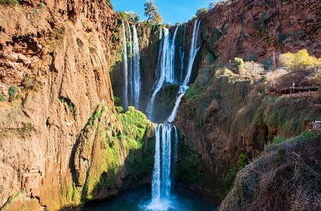 Ouzoud Falls – a Must-See while on Holiday in Marrakech