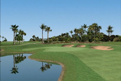 Palmeraie Golf Club, one of Marrakech's many golf courses