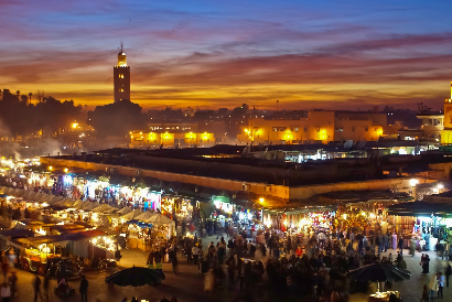 Marrakech Nightlife - a vibrant mixture of tradition and modernity