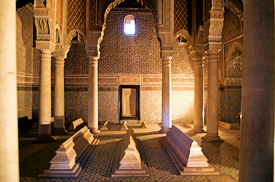 The Saadian Tombs in Marrakech