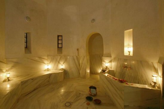 Gommage at the best Spa Hotel in Marrakech