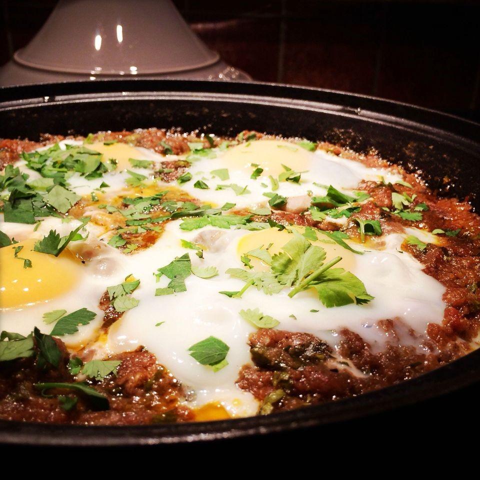 Traditional Moroccan Cuisine: Kefta Mkaouara, a Moroccan Meatball Tagine