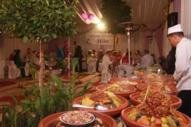 Gala buffet