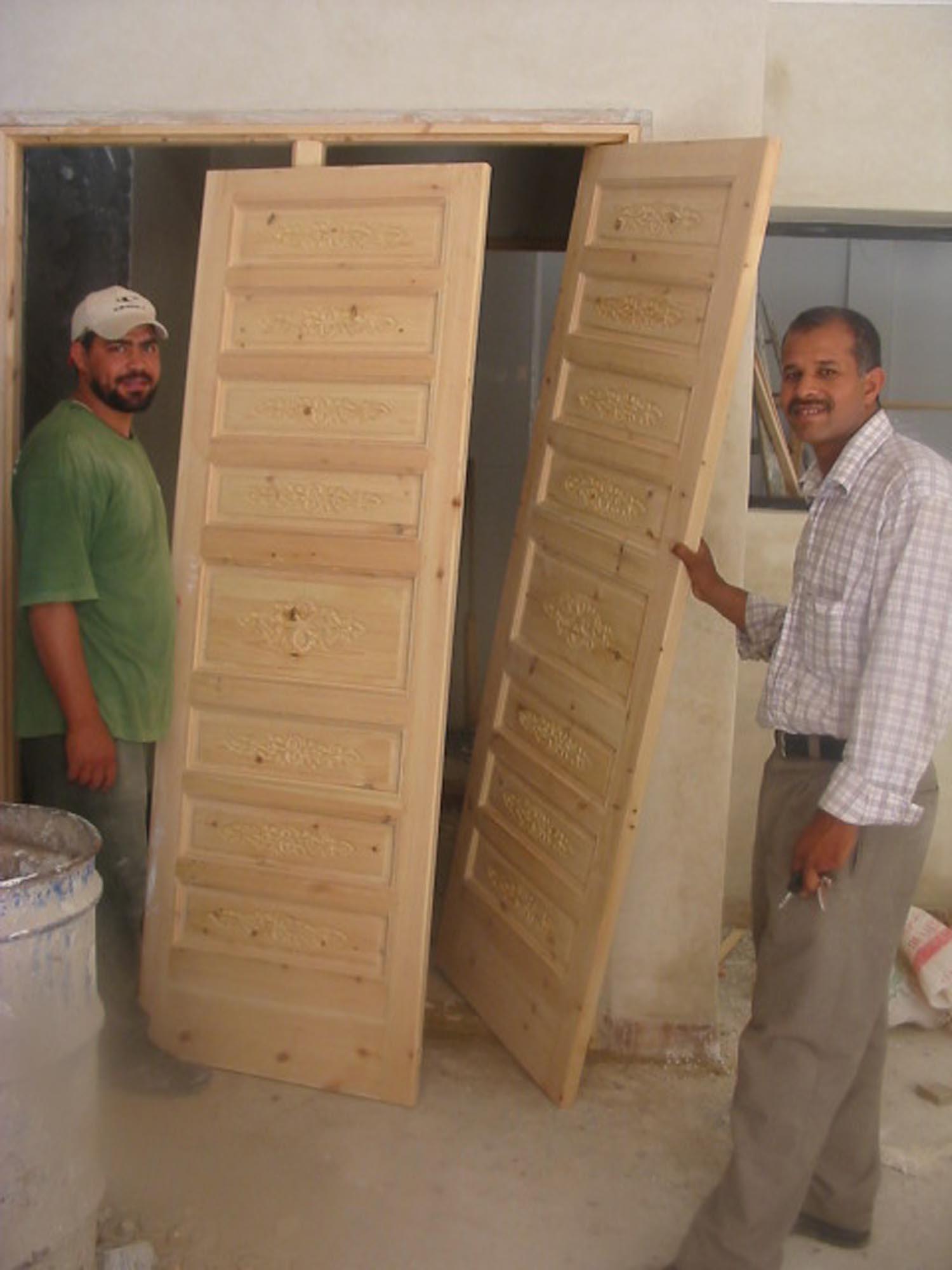 Proud carpenters!