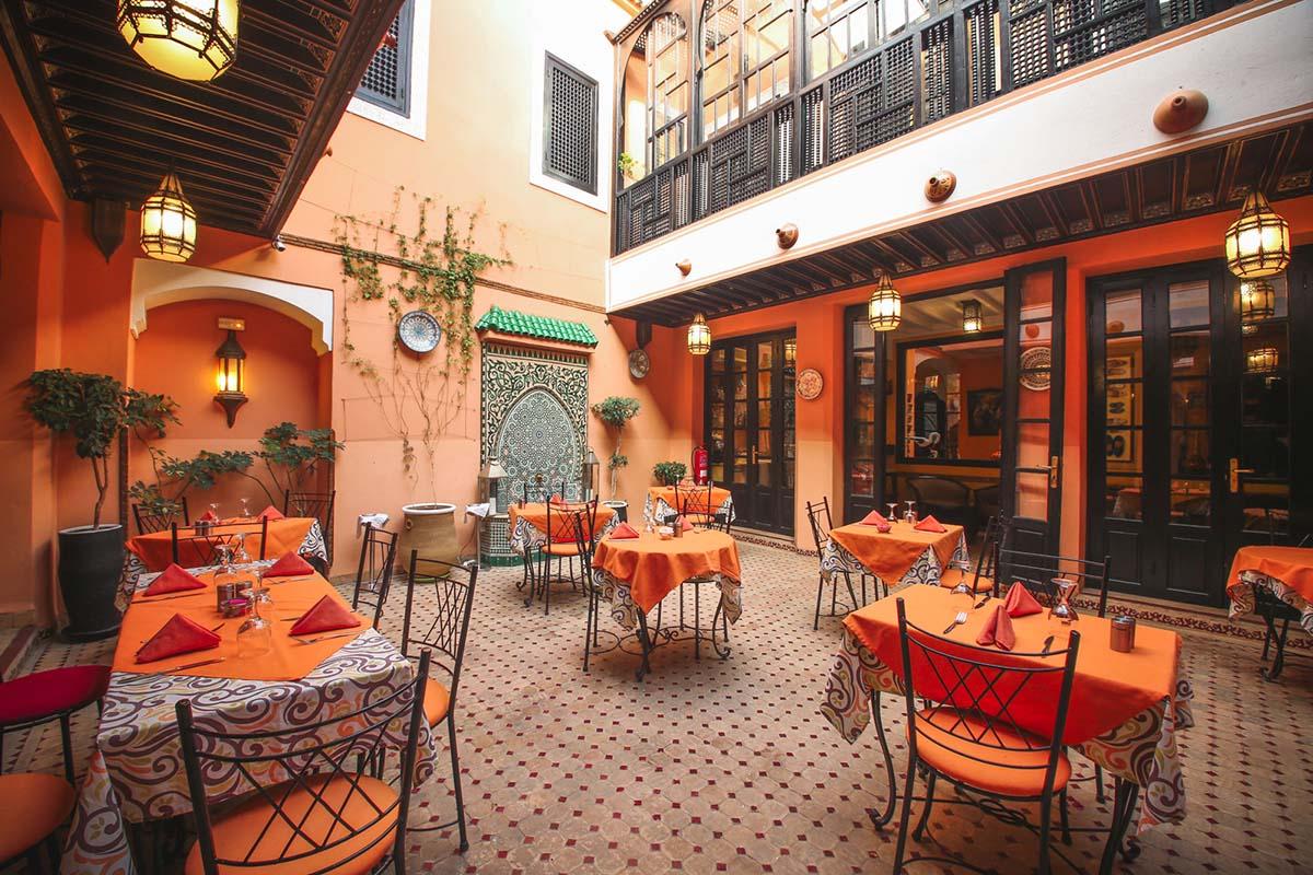Le Jasmin Restaurant Marrakech