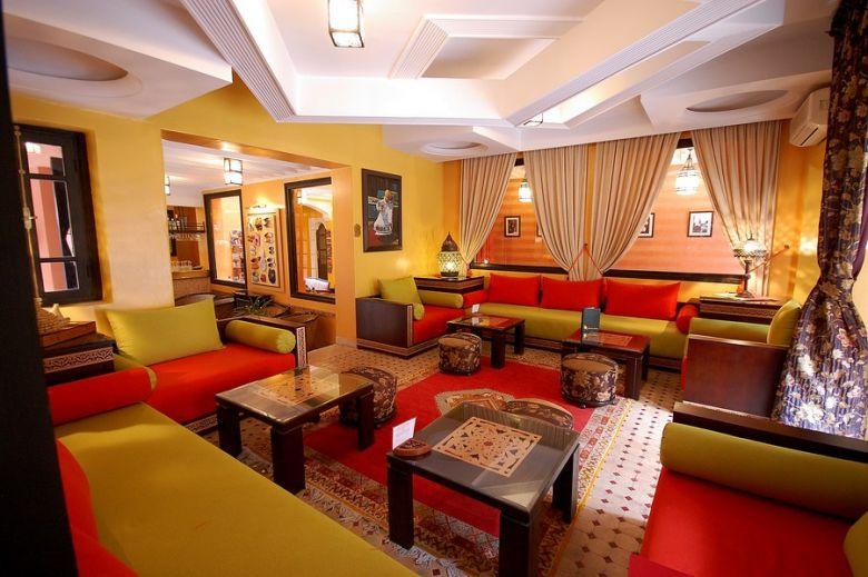 Luxury boutique hotel in Marrakech
