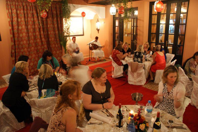 diner au Les borjs de la kasbah